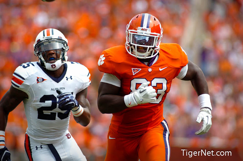 Clemson vs. Auburn Photos - 2011, Auburn, Dwayne Allen, Football