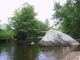 The big rock swimming hole
