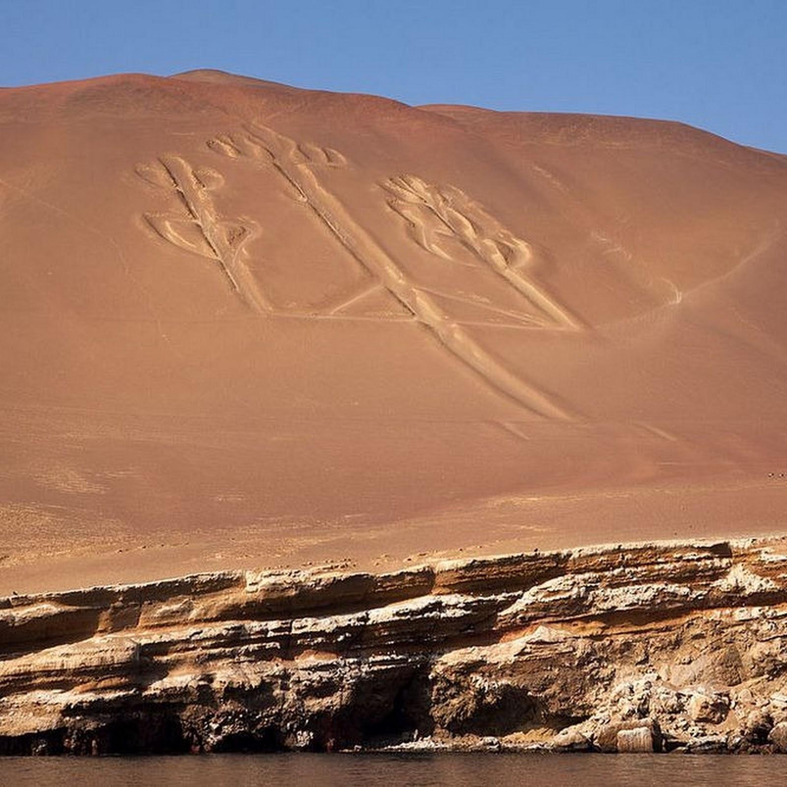 Paracas Candelabra of Peru