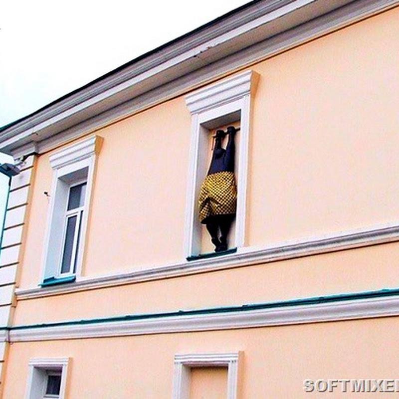 Необычные памятники российских городов