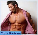 Chris Bortone - PowerMen, Raw Poser