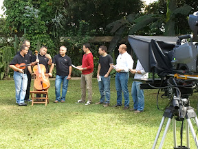 Morning TV Show with the MozART group - San Jose / Costa Rica