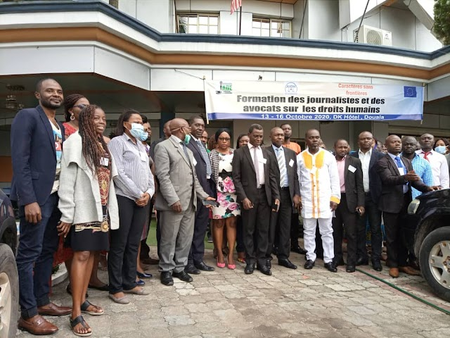 JADE Cameroun Trains Journalists on Human Rights Reporting