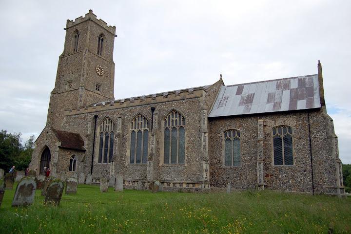 Ranworth church