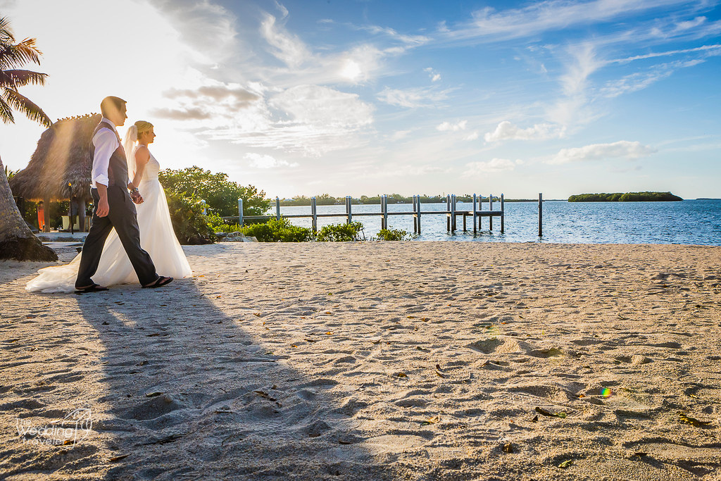 best destination beach wedding locations in Florida and the Florida Keys