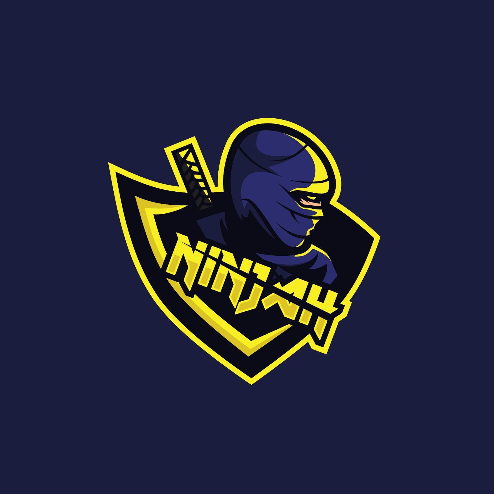 Ninja Logo Squad Gaming Free Download Vector CDR, AI, EPS and PNG Formats