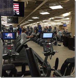 Hustonian Hotel Gym