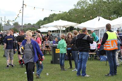 Dorpsvolleybal en Barbecue Terbroek vrijdag 1 juli 2011