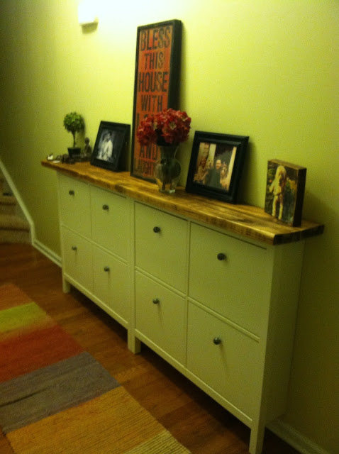 Where the ferncliff grows spring project fun ikea hack for Ikea hack shoe cabinet