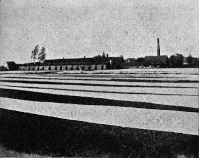 Rentkammergelände lm Bruche, 1193 durch Fürstin Pauline angelegt. Bleiche im Bruche: Veerhoffs-Bleiche 1906