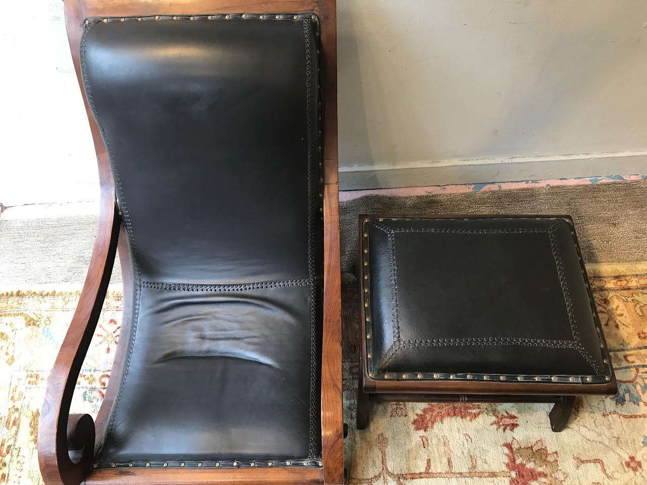 Magnificent British Plantation Chair And Ottoman Shophousingworks Dailytribune Chair Design For Home Dailytribuneorg