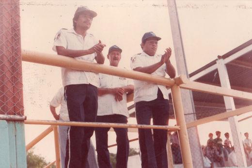 Comisión Nacional de Emergencia en el campeonato nacional de ligas pequeñas división menor 1986