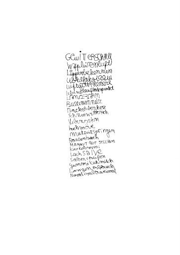 Faserstift auf Papier 21 x 29.7