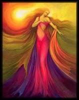 Wuriupranili Aboriginal Solar Goddess Image