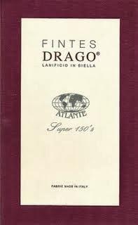 Fintes Drago, Super 150's Anzug € 900/-