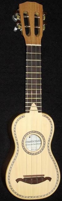 Acousticmelo picollo mini cavaquinho ukulele