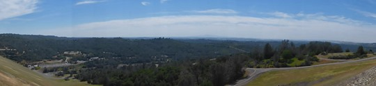 West View off Oroville Dam