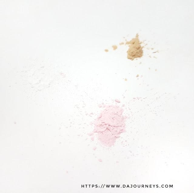 Review Althea Korea's Petal Velvet Powder