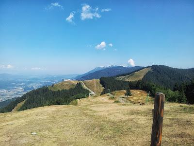 Blick über die Skiregion Dreiländereck