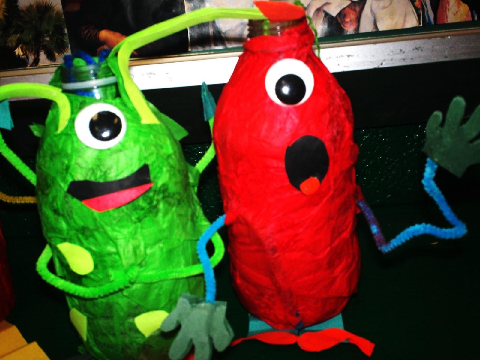 Art With Mr E Alien Sculptures 2nd Grade