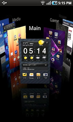 Regina 3D- one of the best 3D launchers for android devices.
