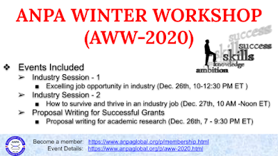 ANPA Winter Workshop 2020 (AWW-2020)