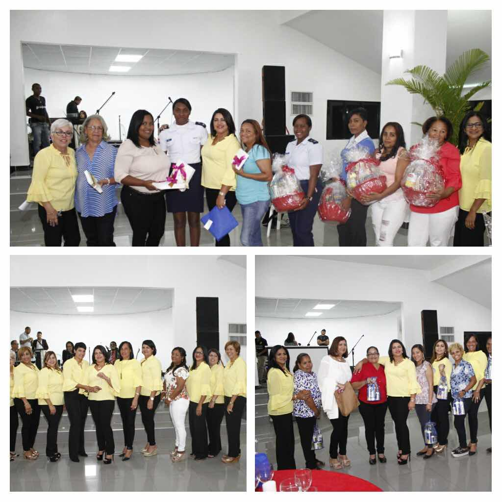 Comité de Esposa de Oficiales realiza cena especial para conmemorar el Día Internacional de la Mujer