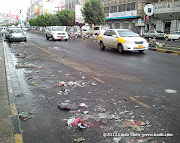 A cleaner part of Hadda Street, Sana'a, Yemen
