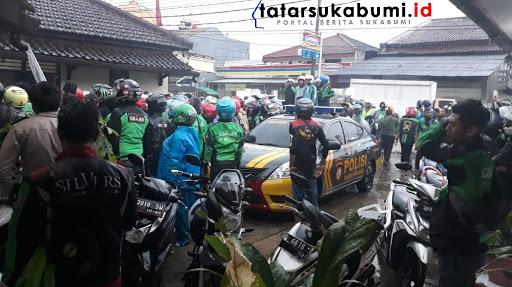 Gesekan Ojol di Sukabumi, Dua Kompol Diturunkan Buru Pelaku Pemukulan