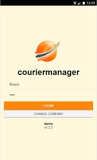courier manager screenshot 1
