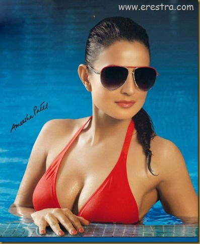 Amisha Patel Hot Photo Shoot... glintcinemas.com