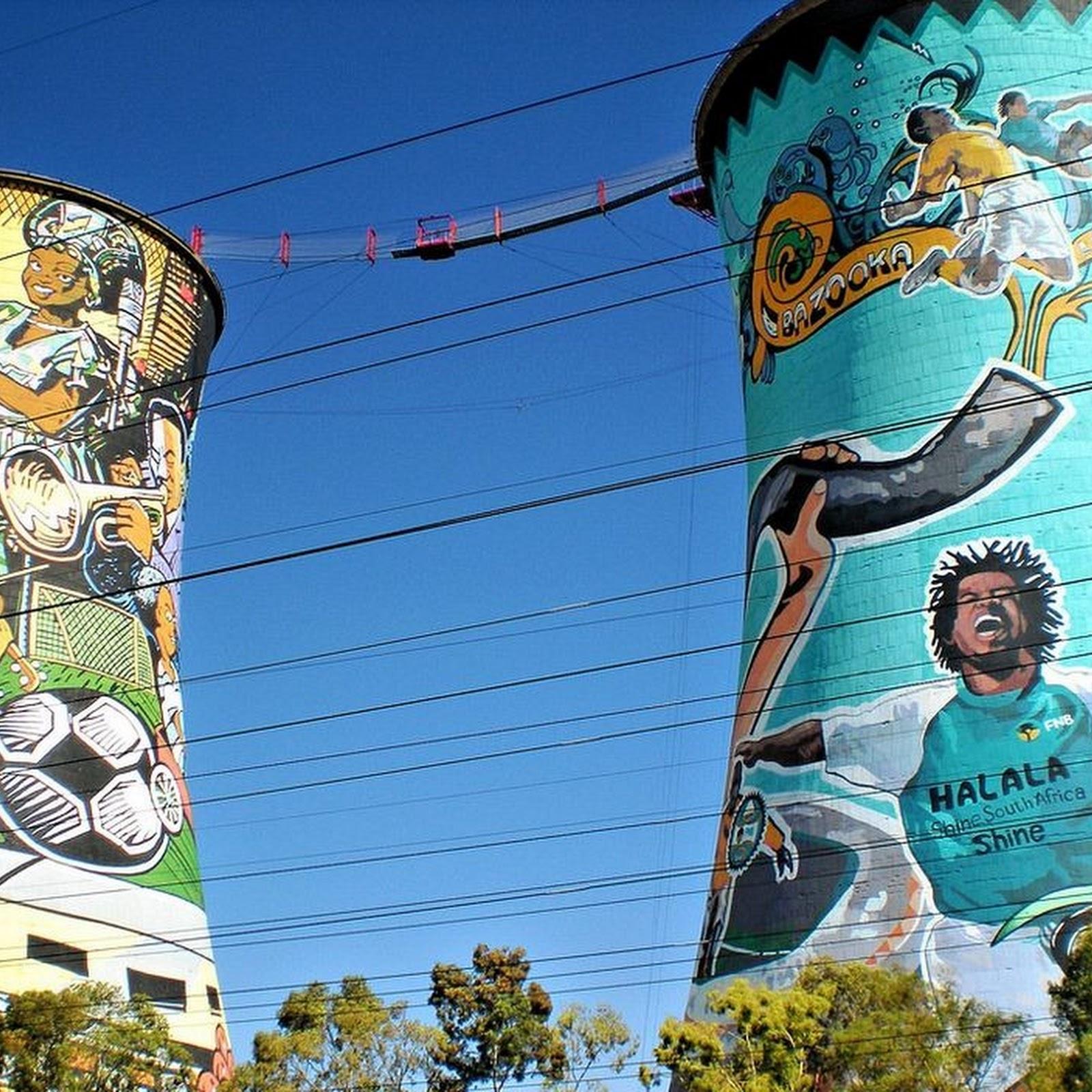 Orlando Towers in Johannesburg