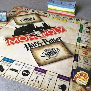 Monopoly Harry Potter DIY