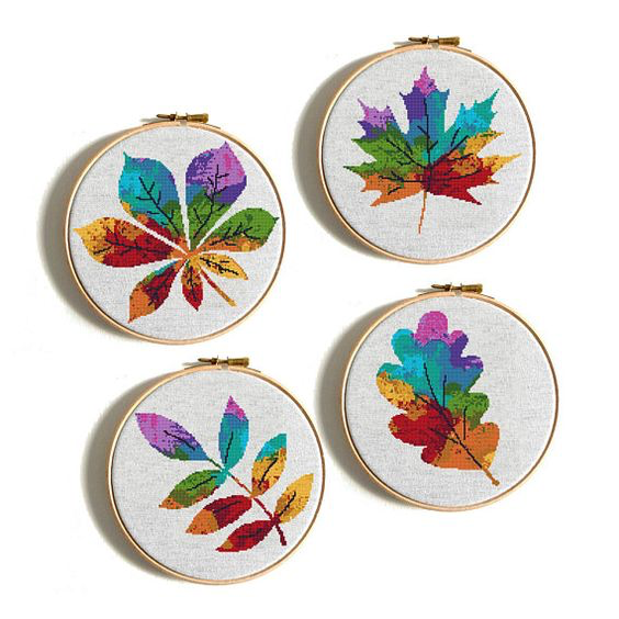fall leaves water color cross stitch.png