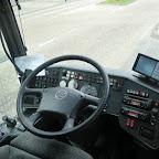 Het dashboard van de Setra van Besseling bus 510