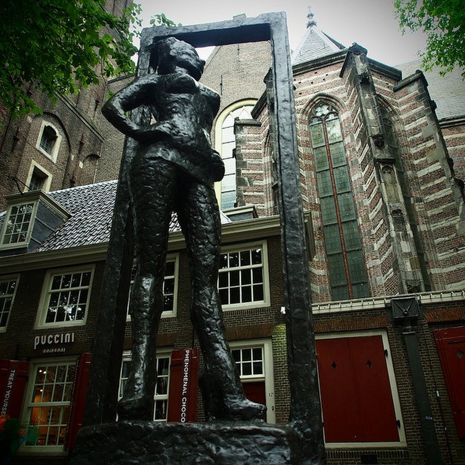 A Statue Dedicated to Sex Workers in Amsterdam