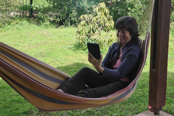 Xorcom's Ruth Bridger Enjoys her Kindle Fire
