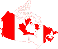 second largest country canada