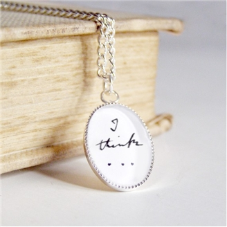 Darwin I think pendant