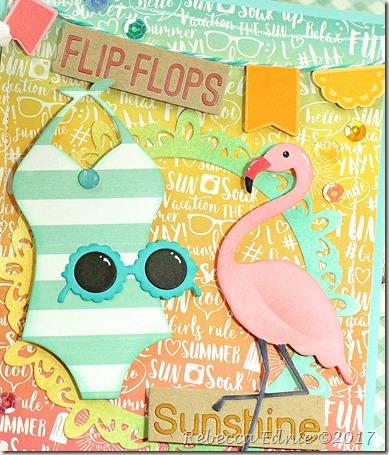 c4c swimsuit flamingo2