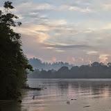 La Kinabatangan à Sukau, Sabah (Malaisie), 14 août 2014. Photo : T. Boucher