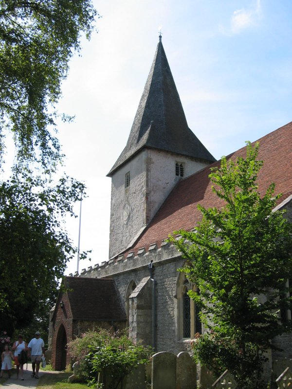 holy trinity church in bosham