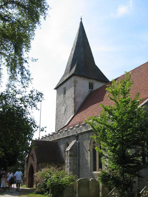 holy trinity church in bosham