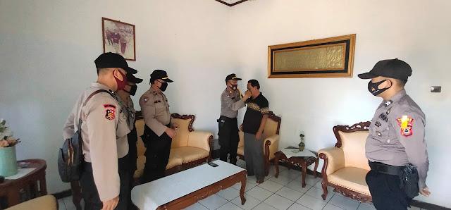 Bina Kusuma Lipu Polres Soppeng, Sat Binmas Kunjungi Sejumlah Tokoh