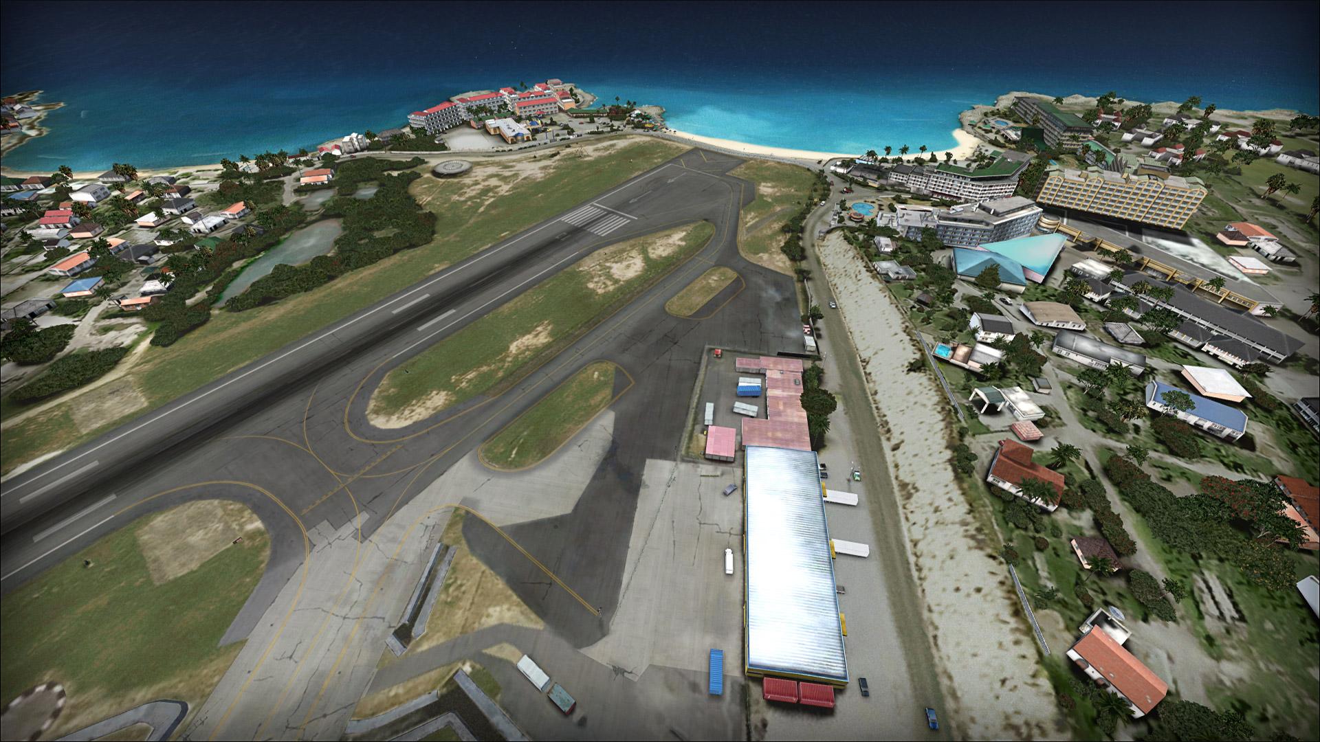 Fsx Flytampa St Maarten Tncm Airport Layout - logpolv