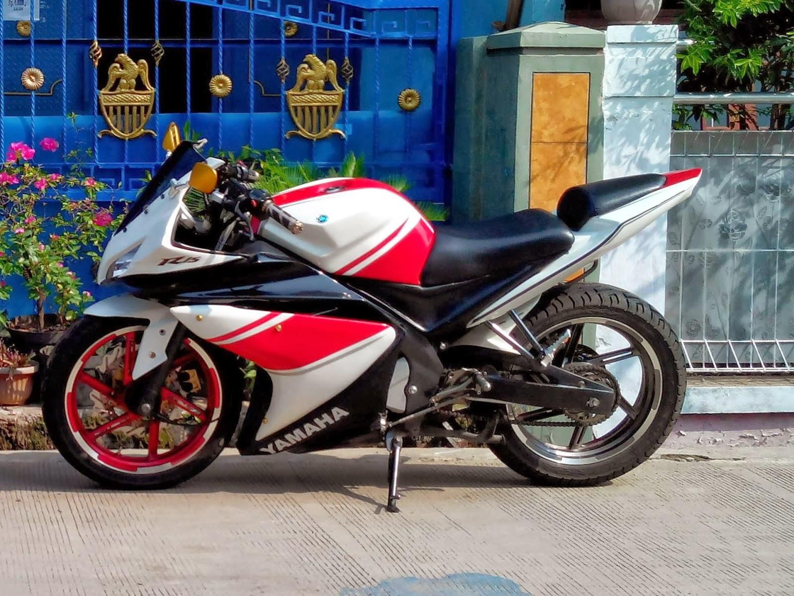 Foto Modifikasi Yamaha New Vixion