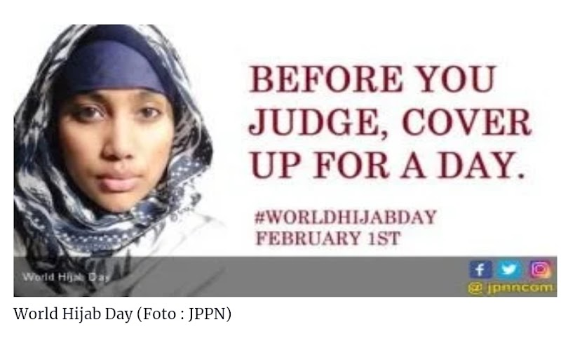 Upaya Deislamisasi Melalui Kampanye No Hijab Day