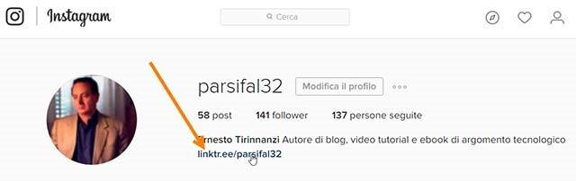 linktree-instagram-sito-web