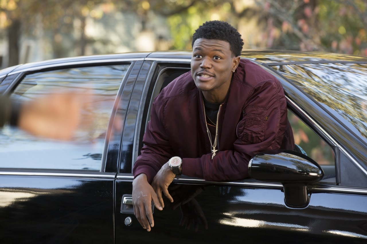DC Young Fly stars as Eric in ALMOST CHRISTMAS. (Photo by Quantrell D. Colbert / courtesy of Universal Pictures).