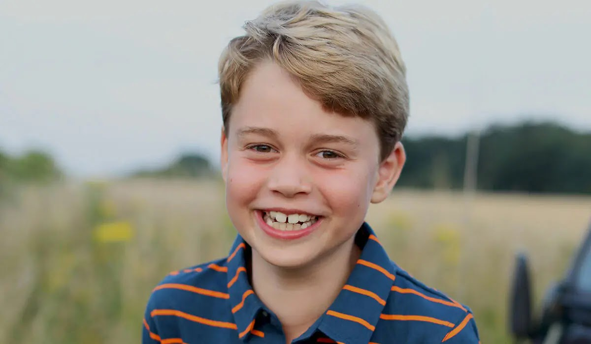 Prince George Smiles in Eighth birthday Photo with a Sweet Nod to Prince Philip